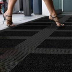 Gummiplatten-Stecksysteme für Eingänge