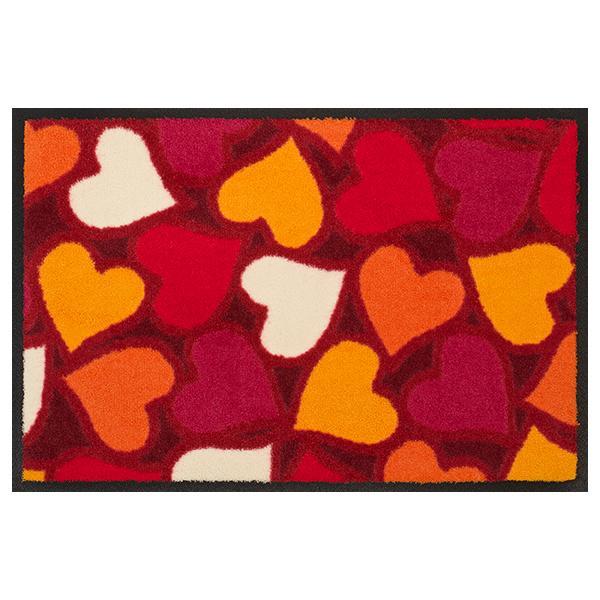 Designmatte Love mit Herzen