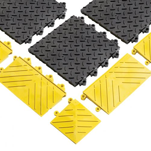 geschlossene Oberfläche - Stecksystem