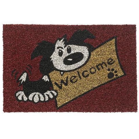 Kokosmatte Welcome Dog Fußabtreter