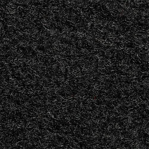 Kunst-Kokosmatte in schwarz