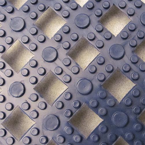 Steckfliesen Modular Lok-Tyle in Blau von Oben