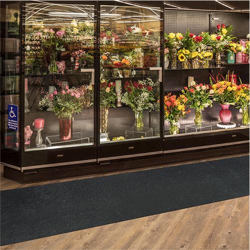 Verlegeware Einkaufsbereich