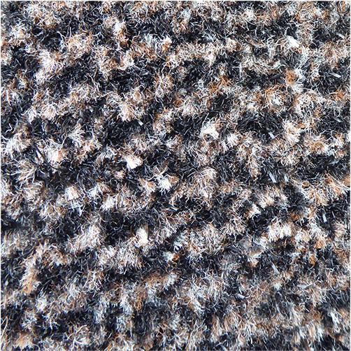 Aventurin Brush - Farbe Braun hohe Schmutzfangleistung durch robuste Borsten