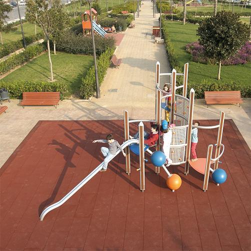Fallschutzplatten für Kindergärten