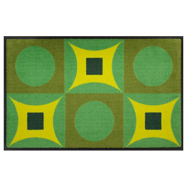 Designmatte Psychedelic grün