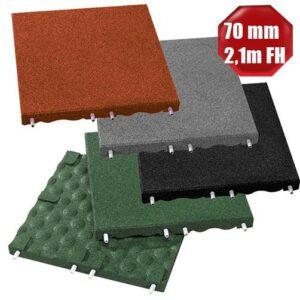 Fallschutzplatten 70 mm Stärke