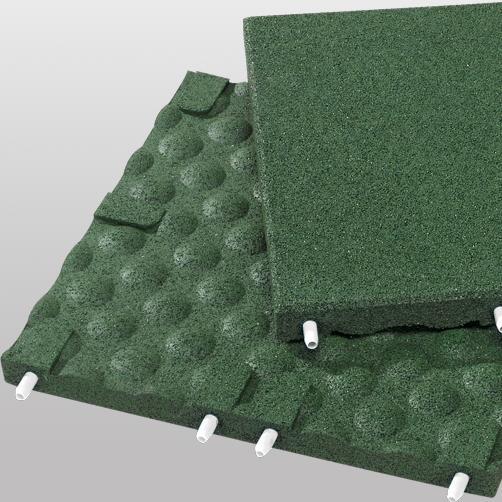 Stecksystem - Fallschutzplatten