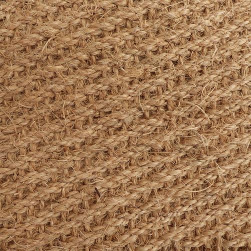 Kokosfaser - traditionelle Webart